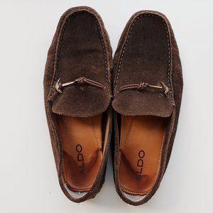 Men's ALDO Suede Loafers, SZ 12, Anchor